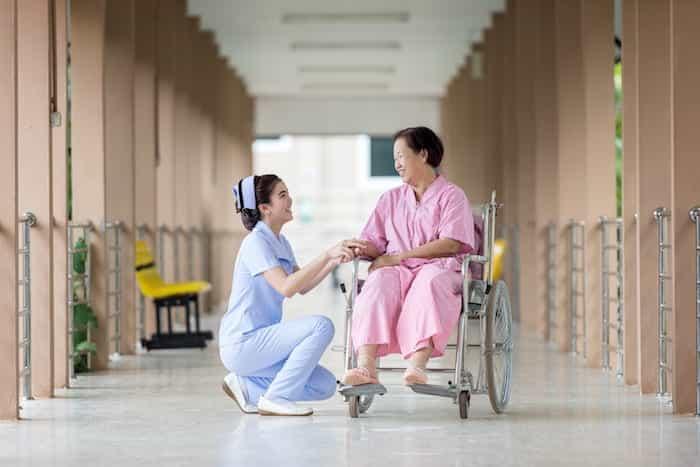 Limpieza de una residencia geriátrica