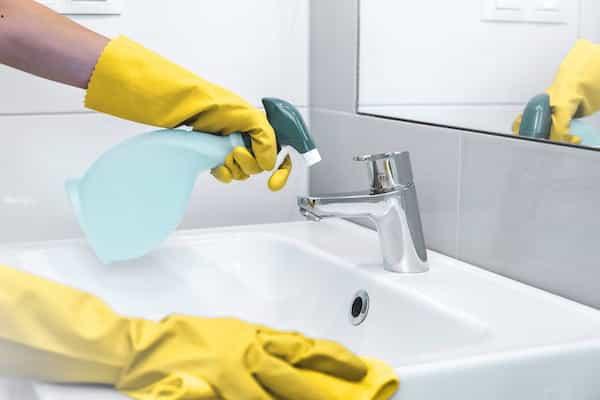 Servicio de limpieza contratado