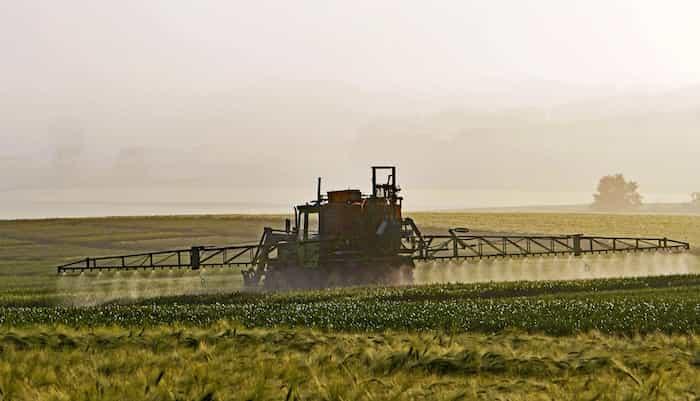 Uso de biocidas en la agricultura