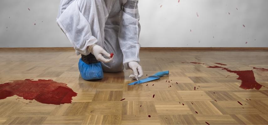 Tras un asesinato se debe hacer una limpieza traumática