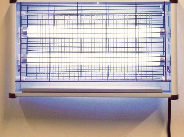 Matamoscas eléctrico para una plaga de moscas