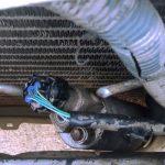 Limpieza de un circuito de aire acondicionado motriz