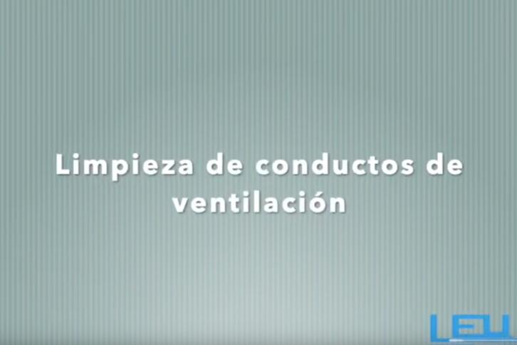 Video limpieza de conductos de ventilación
