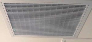 Limpieza de los filtros de aire acondicionado centralizado